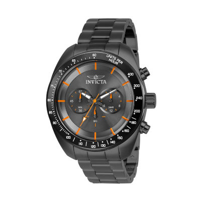 Invicta Mens Chronograph Gray Stainless Steel Bracelet Watch 28903