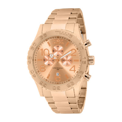 Invicta Specialty Mens Rose Goldtone Bracelet Watch-1271