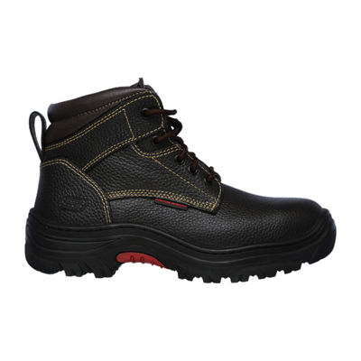 Skechers Mens Burgin Lace-up Work Boots