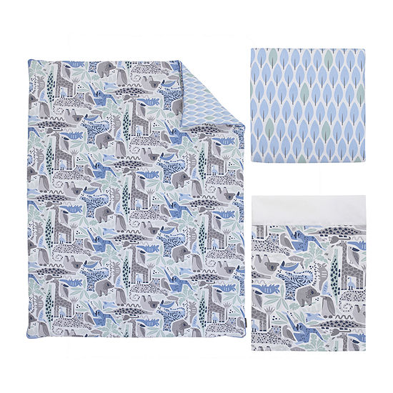 Dwell Studio Safari Skies 3-pc. Crib Bedding Set