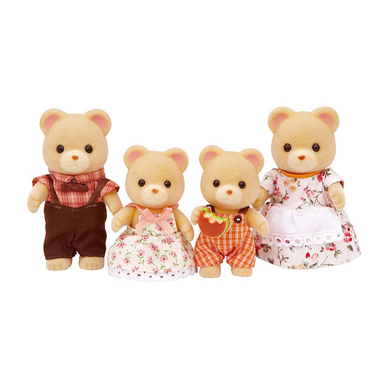 Calico Critters 4 Pc Doll