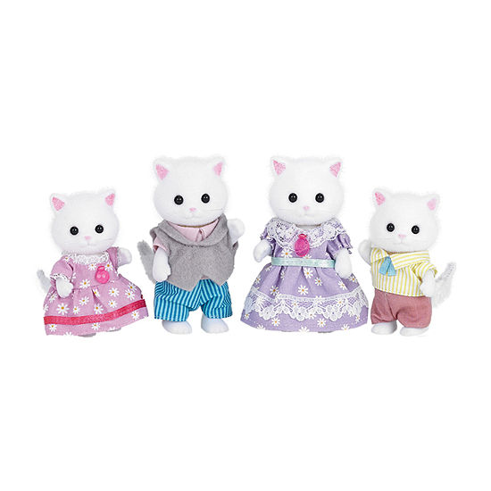 Calico Critters Persian Cat Family 4-pc. Doll