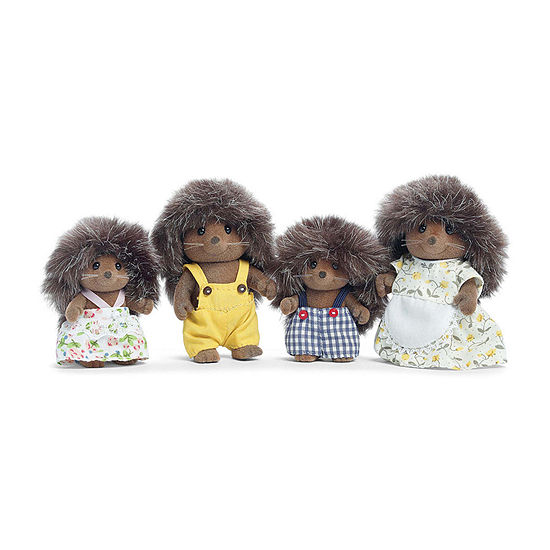 Calico Critters Pickleweeds Hedgehog Family 4-pc. Doll