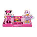 Melissa & Doug Minnie & Daisy Wooden Magnetic Dress-Up