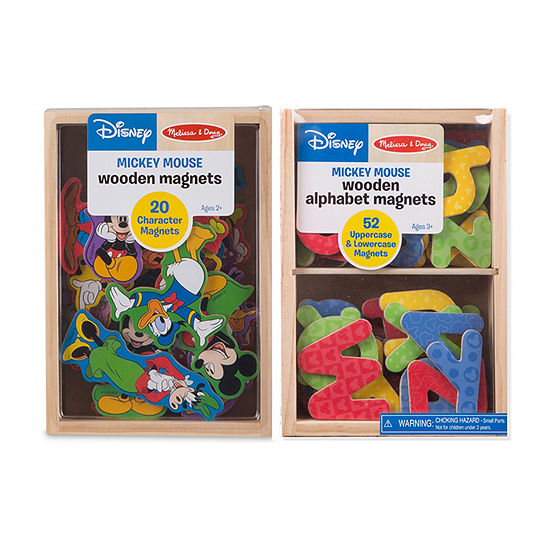 Melissa & Doug Set Of 2 Disney Magnet Bundle