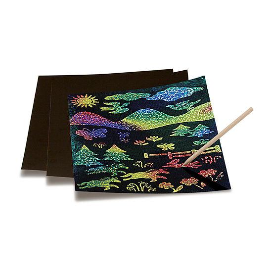 Melissa & Doug Scratch & Sparkle Multicolor Glitter (30 Boards)