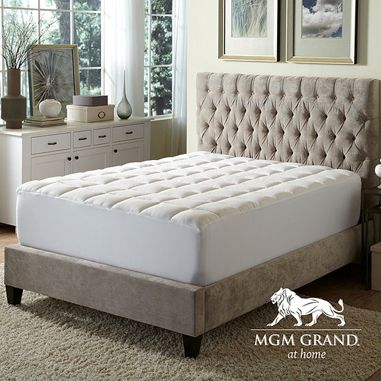 MGM Grand At Home Overfilled Extra Loft Waterproof Mattress Pad