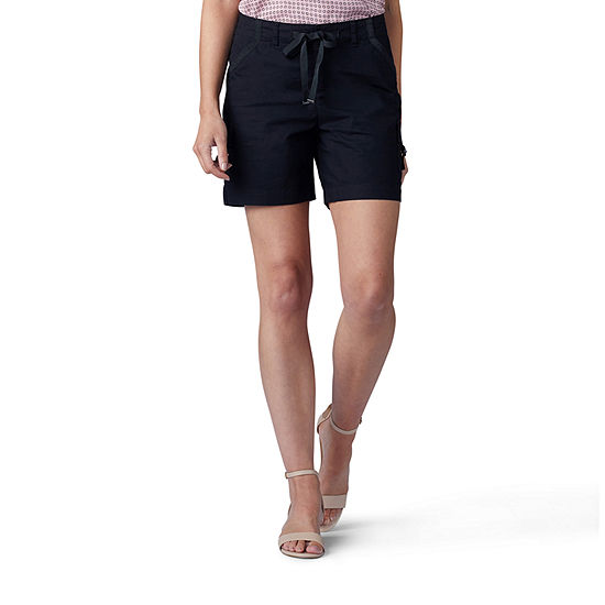 """Lee Womens Mid Rise 6"""" Cargo Short"""