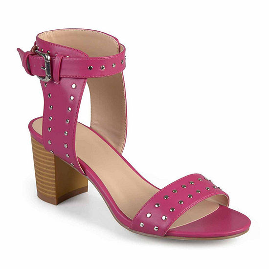 Journee Collection Womens Mabel Pumps Stacked Heel