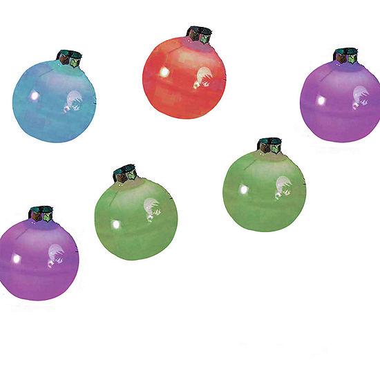 Kurt Adler Glass Ball Ornament Color-Changing LED Light Set