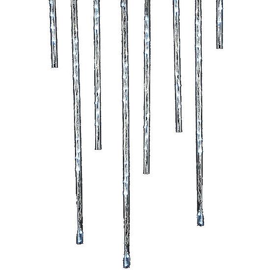 Kurt Adler Indoor/Outdoor 144-Light Winter White Meteor Shower LED Light Sticks
