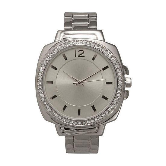 Olivia Pratt Womens Silver Tone Bracelet Watch - A915771silver