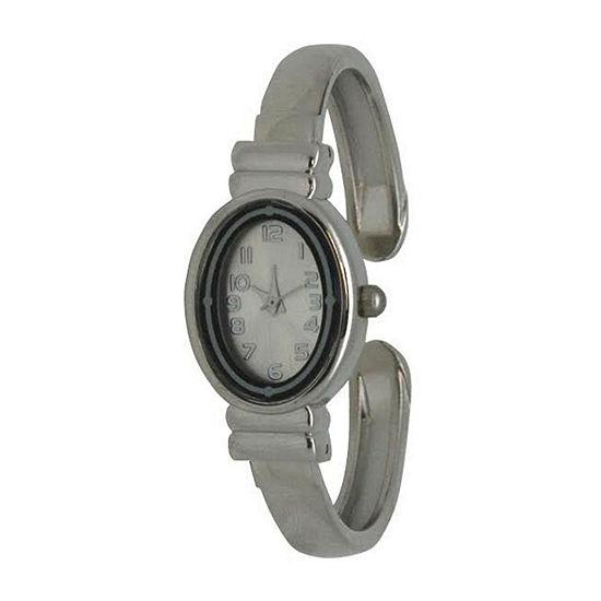 Olivia Pratt Womens Silver Tone Bracelet Watch - 17296bsilver
