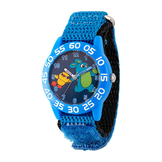 Disney Toy Story Boys Blue Strap Watch-Wds000708