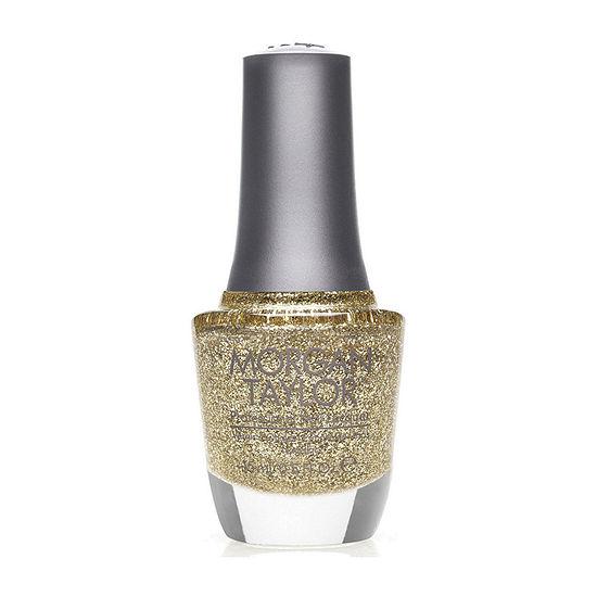 Morgan Taylor™ Glitter & Gold Nail Polish - .5 oz.