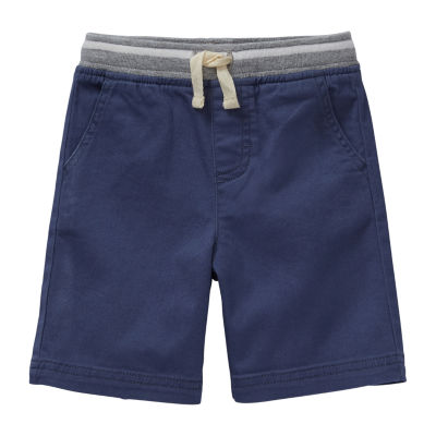 Okie Dokie Boys Woven Pull-On Short Toddler