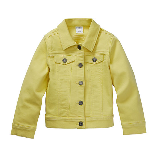Okie Dokie-Toddler Girls Denim Jacket