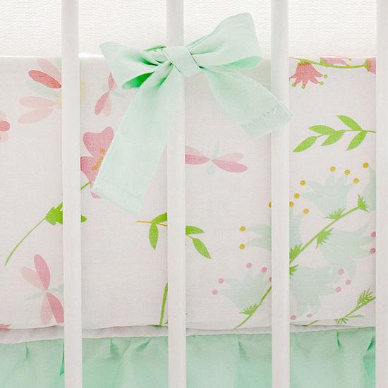 My Baby Sam Spring Floral Crib Sheet