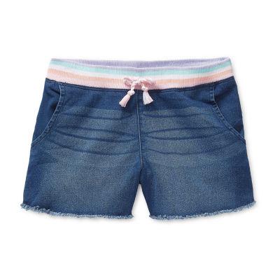 Arizona Little & Big Girls Pull-On Shortie Short