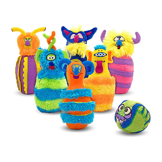 Melissa & Doug Monster Bowling Set