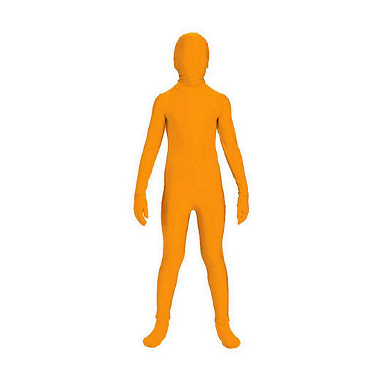 Shop By Color - Orange: Orange Skinsuit - Child