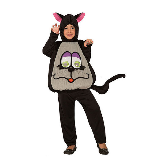 Toddler Wiggle Eyes-Cat Costume - Small