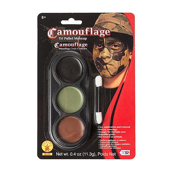 Tri Color Pallettes Camaflouge Makeup Kit