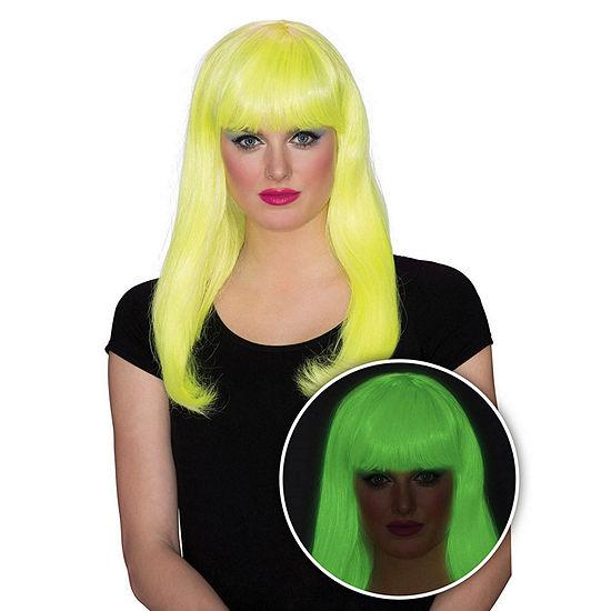Women's Yellow Glow Babe Wig