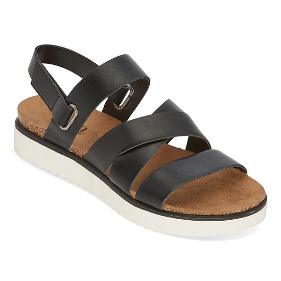 a.n.a Urika Womens Ankle Strap Footbed Sandals