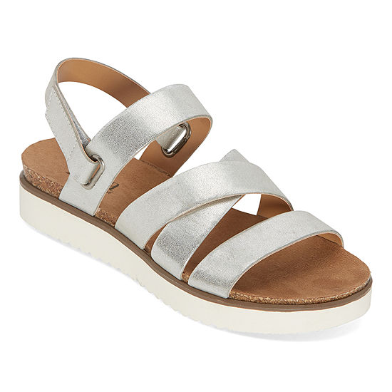 a.n.a. Urika Womens Ankle Strap Footbed Sandals