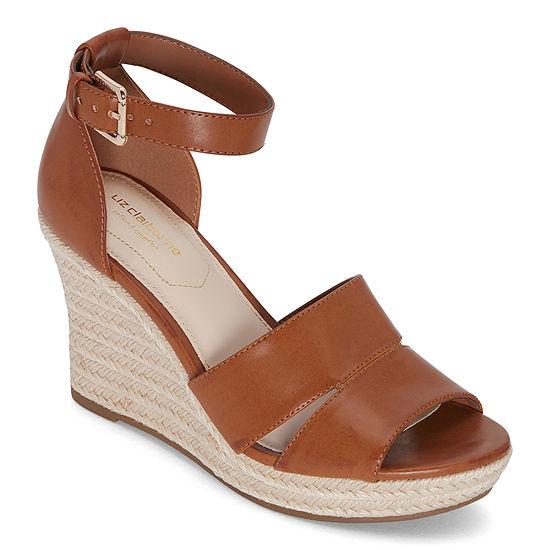 Liz Claiborne Womens Majorca Wedge Sandals