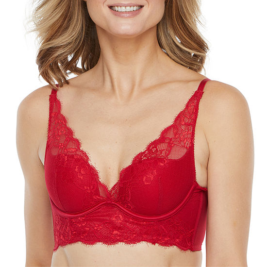 Ambrielle Longline Push Up Bra