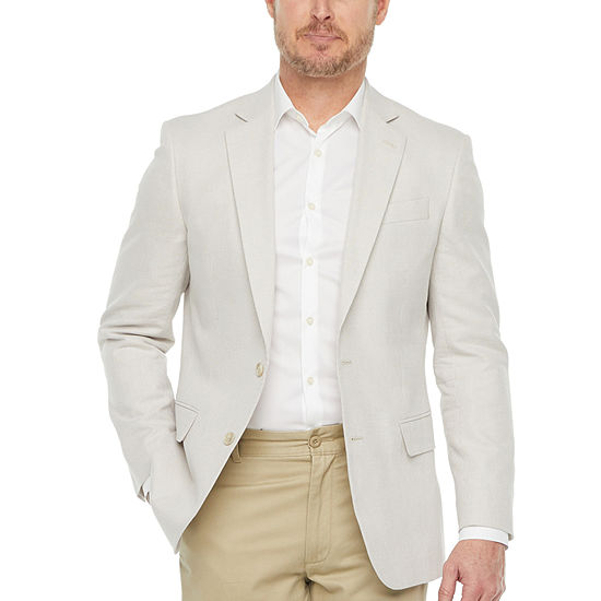 Stafford Cotton Mens Classic Fit Sport Coat