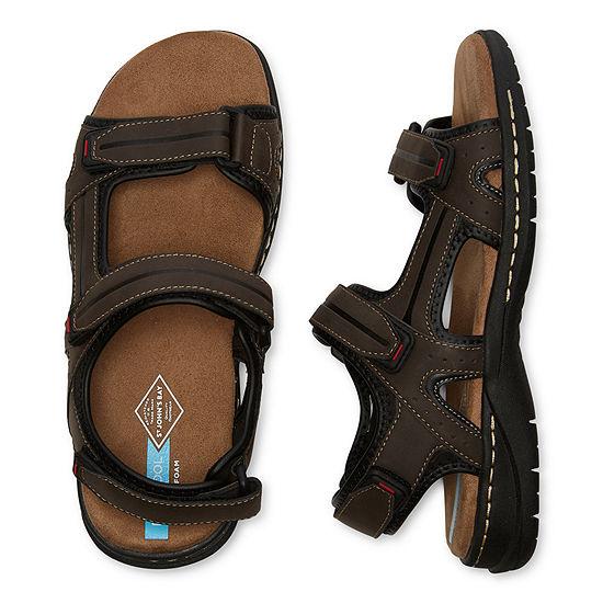 St. John's Bay Mens Badger Strap Sandals