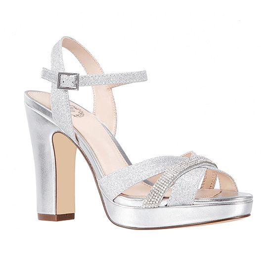 I. Miller Womens Sidra Heeled Sandals