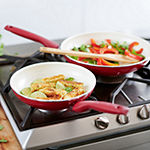 GreenPan Rio Ceramic 2-pc. Aluminum Dishwasher Safe Non-Stick Frying Pan