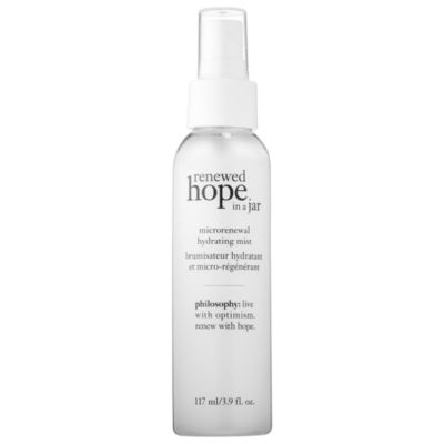 philosophy Renewed Hope In A Jar Microrenewal Hydrating Mist