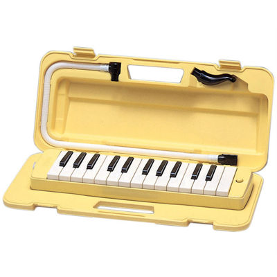 Yamaha Yellow Pianica 25-Note Keyboard Wind Instrument