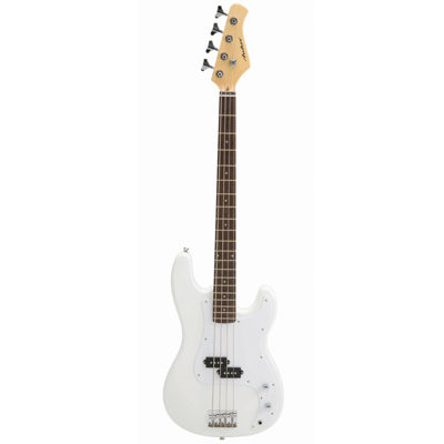 Archer P-Style White Electric Bass