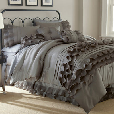 Anastacia Ruffled 8-pc. Comforter Set