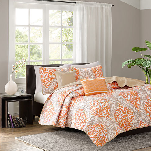 Intelligent Design Sabrina Coverlet Set