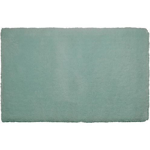 Laura Ashley™ Pearl Plush Bath Rug Collection