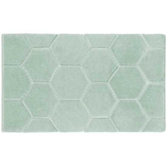 Laura Ashley™ Pearl Honeycomb Bath Rug Collection