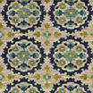 Covington Home Floral Medallion Rectangular Rug