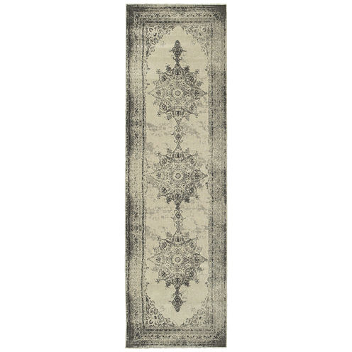 Oriental Weavers Buckingham Distressed Runner Rug
