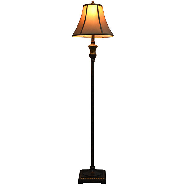 J. Hunt Home Marble-Accent Floor Lamp