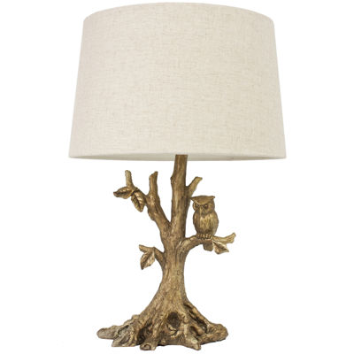 J. Hunt Home Textured Owl Table Lamp