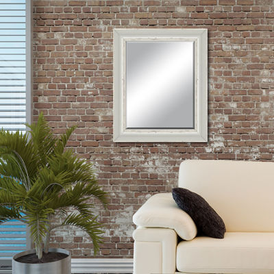 Camden Distressed  Beveled Wall Mirror