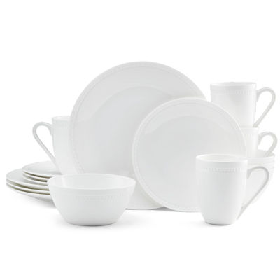 Bone China Dinnerware Set  sc 1 st  JCPenney & Mikasa Loria 16 pc Bone China Dinnerware Set