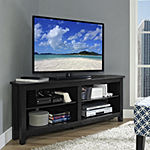 "Clouseau 58"" Wood Corner Entertainment Center"